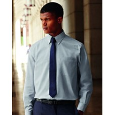 SS101M Fruit of the Loom Long Sleeve Oxford Shirt